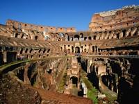 Рим, арена гладиаторских боев Колизей