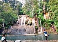 Водопад Эраван, национальный парк провинции Канчанабури
