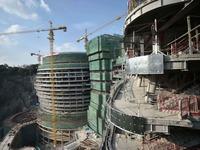 В Китае строят роскошный отель в заброшенном карьере