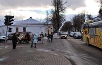 На улицах Суздаля в начале ноября