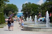 город Анапа в июне