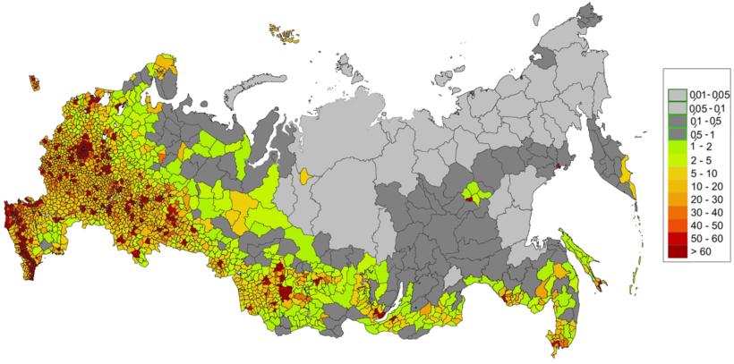 Какова реальная численность населения России?