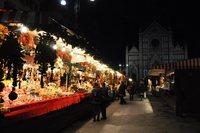 Рождественская ярмарка во Флоренции