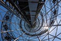 Внутри Алфавитной башни, Батуми 2017