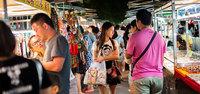Рынок в Хайнане