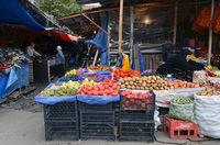 Продуктовый рынок Тбилиси