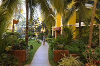 Калангут, территория отеля