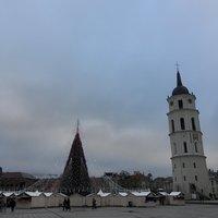 Новогодняя ярмарка в Вильнюсе