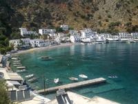 Деревня Лутро, Крит