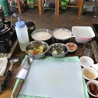 На кулинарном мастер-классе
