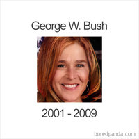 Как выглядели бы американские президенты, если бы они были женщинами