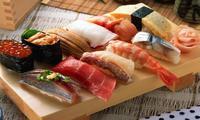 Еда в ресторане Токио