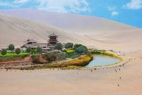 Жемчужина пустыни: 7 самых красивых оазисов мира