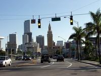 Майами: движение на дорогах