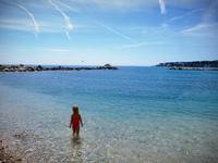 Antib beach — пляж Антиб