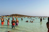 Айя-Напа, пляж Нисси бич