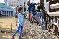 Фотограф из Кении превратил бездомную пару в настоящих фотомоделей
