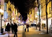 Люксембург, улица Grand Rue — центр шопинга