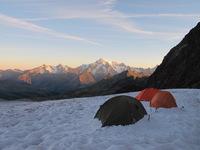 Ночевка в Альпах