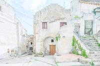 Потрясающие фотографии итальянского города Матеры и его архитектуры