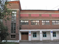 Конструктивизм 1920-х. Здание школы.