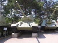 Площадка с военной техникой