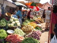 Фруктово-овощной рынок в Калангуте