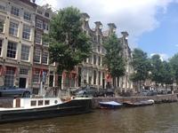 Пейзажи Амстердама в августе