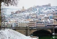 Тбилиси под снегом