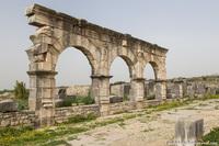Щедрый древнеримский город в северной Африке