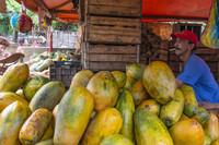 Куба, на рынке в Гаване