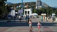 Крым, Алушта: прогулка по набережной