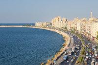 Насыщенная улица в Александрии