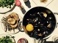 Овощи и дары моря в мае в Испании