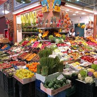 Старейший рынок Севильи Меркадо де Триана