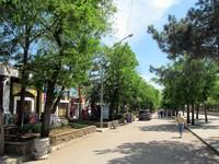 Прогулка по улицам городе в дневное время