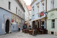 Братислава: вот такие узенькие улочки есть в городе