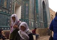 Мечеть Шахи Зинда - действующая достопримечательность