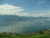 Женевское озеро (май, Швейцария)