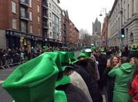 День Святого Патрика в Дублине