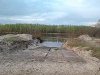 Речной пляж Б. Алматинка.