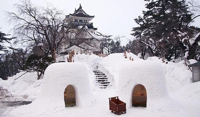В Японии пройдет фестиваль снежных домиков, которому больше четырехсот лет