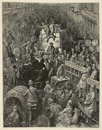 Мрак и свет викторианского Лондона в гравюрах Гюстава Доре