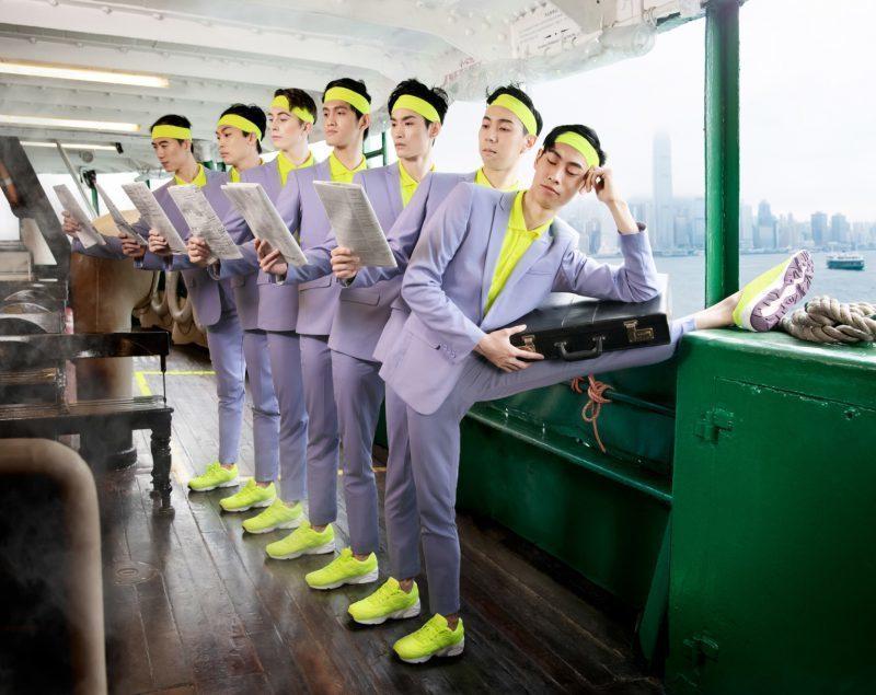 Гармония классики и поп-культуры: Гонконгский балет в честь юбилея вышел на улицы