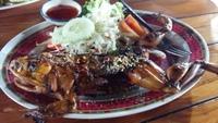 Тайская экзотика — лягушка