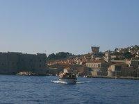Старый порт Дубровника. Вид с моря.