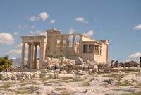 Эрехтейон, Афины, июнь