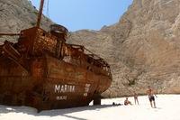 Корабль на Закинтосе