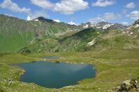 озеро на Каменистом плато, Абхазия