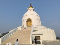 Достопримечательность Покхары - Пагода Мира